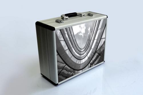 Maleta de presentación de aluminio